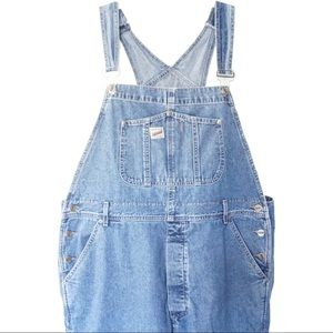 Vintage Guess Jeans Denim Overalls Carpenter XL
